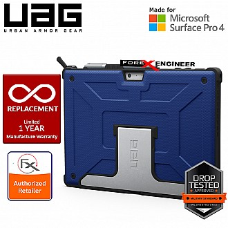 UAG Metropolis Series for Microsoft Surface PRO (2017) & Compatible with  Surface PRO 4 / 6 / 7 - Cobalt