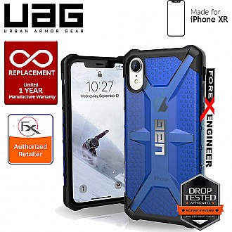 UAG Plasma for iPhone XR Feather-Light Rugged & Military Drop Tested - Cobalt color