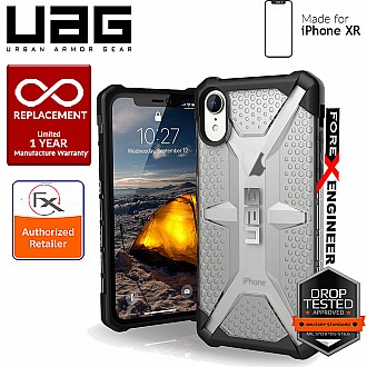 UAG Plasma for iPhone XR Feather-Light Rugged & Military Drop Tested - Ice color