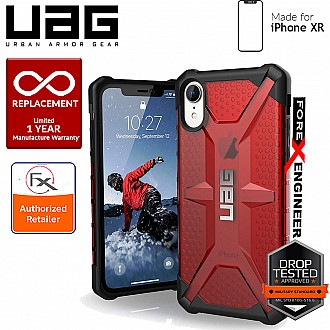 UAG Plasma for iPhone XR Feather-Light Rugged & Military Drop Tested - Magma color
