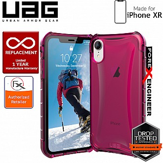 UAG Plyo for iPhone XR Feather-Light Rugged & Military Drop Tested - Pink color