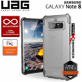 UAG Plyo for Samsung Galaxy Note 8 - Feather-Light Rugged Military Drop Tested Phone Case - Ice Color