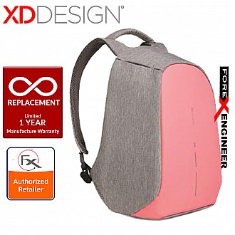 XD Design Bobby Compact - Anti-Theft Backpack - Coralette