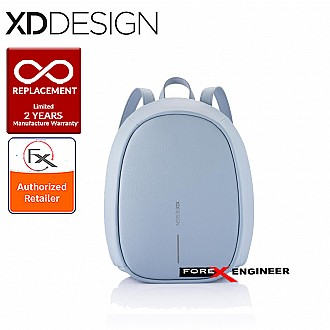 XD Design Bobby Elle - Anti-Theft Backpack - Light Blue color