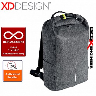 XD Design Bobby Urban Best Anti-Theft Cut-Proof Backpack - Grey