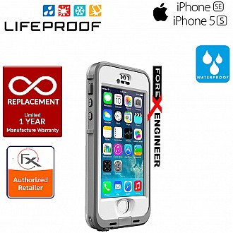 Lifeproof Nuud for iphone 5 / 5S / SE - Avalanche White / Gray