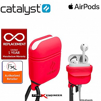 Catalyst Waterproof Case for Airpods - 1 meters deep with 1.2 meters drop protection - Coral