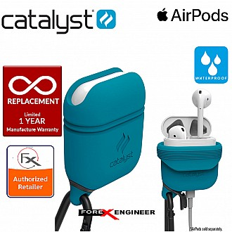 Catalyst Waterproof Case for Airpods - 1 meters deep with 1.2 meters drop protection - Glacier Blue / Teal