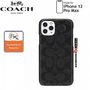 """Coach Slim Wrap for iPhone 12 Pro Max 5G 6.7""""- Black (Barcode : 191058121127 )"""