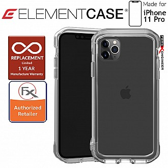 Element Case Rail for iPhone 11 Pro (Clear/Clear)