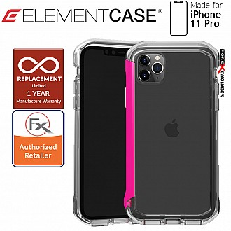 Element Case Rail for iPhone 11 Pro  (Clear/Flamingo Pink)