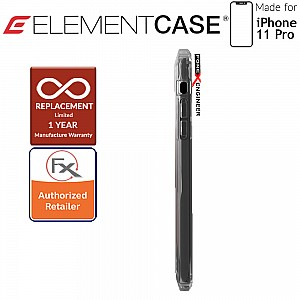 Element Case Rail for iPhone 11 Pro (Clear/Solid Black)