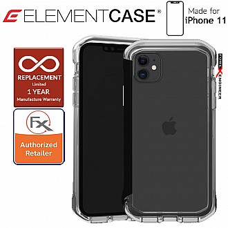 Element Case Rail for iPhone 11  (Clear/Solid Black)