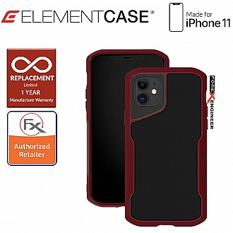 Element Case Shadow for iPhone 11 - Oxblood Color