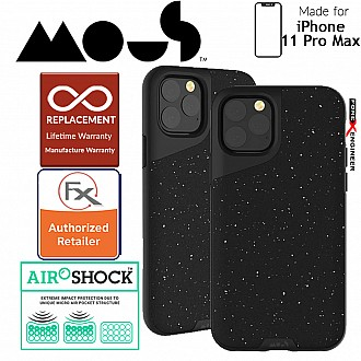 Mous Contour Colour Edition for iPhone 11 Pro Max (Speckled Black Leather)