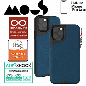Mous Contour Colour Edition for iPhone 11 Pro Max (Blue Leather)