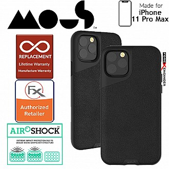 Mous Contour for iPhone 11 Pro Max (Black Leather)