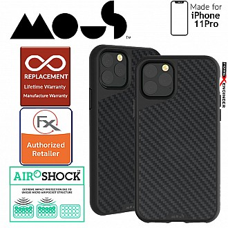 Mous Aramax Case for iPhone 11 Pro (Aramid Carbon Fibre)