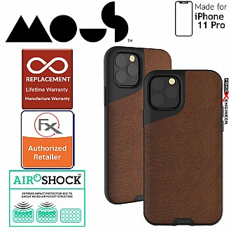 Mous Contour for iPhone 11 Pro (Brown Leather)