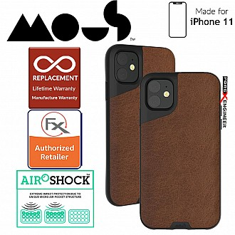 Mous Contour Colour Edition for iPhone 11 (Brown Leather)