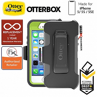OtterBox Defender Series for iPhone 5/5s/SE - Key Lime