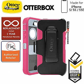 OtterBox Defender Series for iPhone 5/5s/SE - Wild Orchid