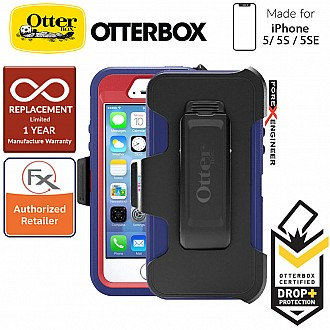OtterBox Defender Series for iPhone 5/5s/SE - Berry