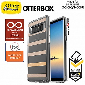 OtterBox Symmetry Clear Series for Samsung Galaxy Note 8 - Inside The Lines
