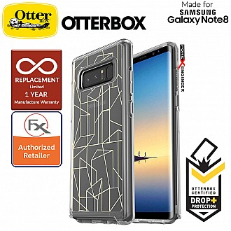 OtterBox Symmetry Clear Series for Samsung Galaxy Note 8 - Drop Me a Line