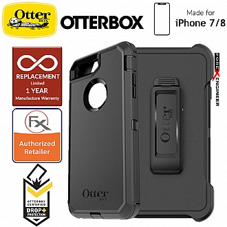 Otterbox Defender Series for iPhone 8 / 7 - Black (Compatible with iPhone SE 2nd Gen 2020) (660543424949)