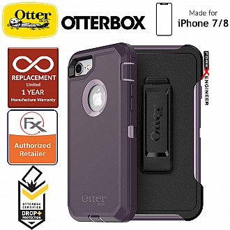 Otterbox Defender Series for iPhone 8 / 7 - Purple Nebula (Compatible with iPhone SE 2nd Gen 2020) (660543424963)