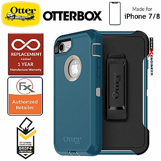 Otterbox Defender Series for iPhone 8 / 7 - Big Sur (Compatible with iPhone SE 2nd Gen 2020)