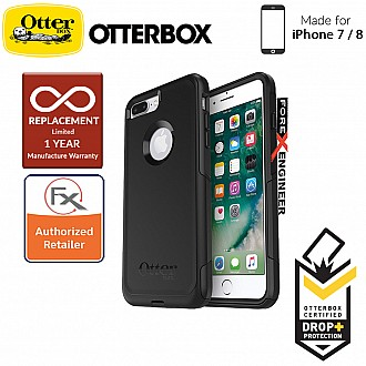 OtterBox Commuter Series for iPhone 7 (Compatible with iPhone 8) - 2 Layers Lightweight Protection Case - Black