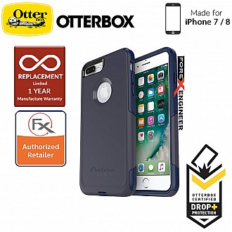OtterBox Commuter Series for iPhone 8 / 7 - 2 Layers Lightweight Protection Case -  Indigo Way (Compatible with iPhone SE 2nd Gen 2020)