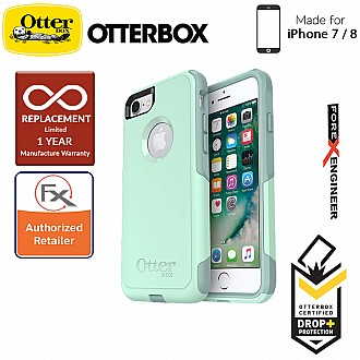 OtterBox Commuter Series for iPhone 8 / 7 - 2 Layers Lightweight Protection Case - Ocean Way