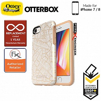OtterBox Symmetry Series for iPhone 8 / 7 - Throwing Shade (Compatible with iPhone SE 2nd Gen 2020) (660543425854)