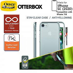 OtterBox Symmetry Clear for iPhone SE 2nd Gen ( 2020 ) compatible with iPhone 8 / 7 - Crystal Clear Color ( Barcode: 660543426271 )