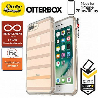 OtterBox Symmetry Clear Series for iPhone 8 Plus / 7 Plus - Inside The Lines