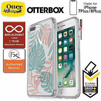 OtterBox Symmetry Clear Series for iPhone 8 Plus / 7 Plus - Easy Breezy