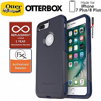 OtterBox Commuter for iPhone 8 Plus / 7 Plus - 2 Layers Lightweight Protection Case - Indigo Way