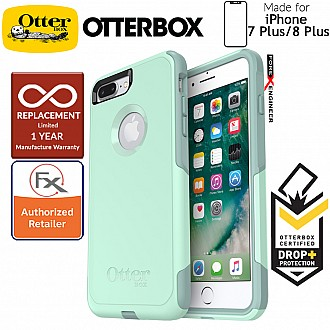 OtterBox Commuter for iPhone 8 Plus / 7 Plus - 2 Layers Lightweight Protection Case - Ocean Way