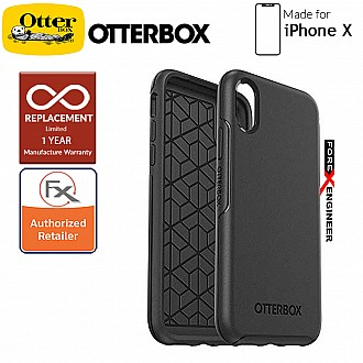 OtterBox Symmetry Series for iPhone X - Black Color (Barocde : 660543431503 )