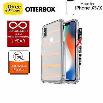 OtterBox Symmetry Clear Series for iPhone Xs / X -Inside The Lines