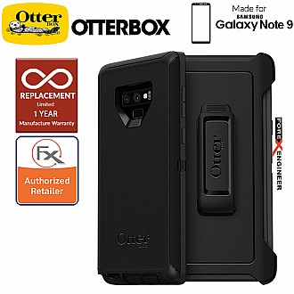 Otterbox Defender for Samsung Galaxy Note 9 - Black Color ( Barcode: 660543462163 )