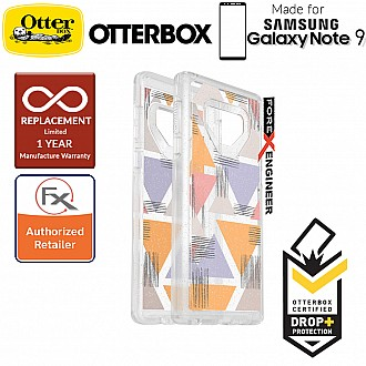 OtterBox Symmetry Clear Graphic Samsung Galaxy Note 9 - Love Triangle