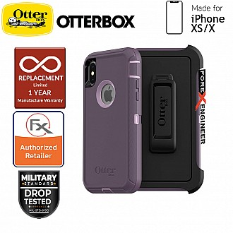 Otterbox Defender Series for iPhone Xs / X - Purple Nebula