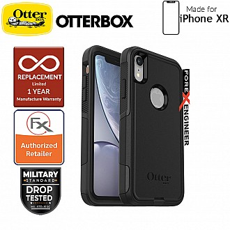 Otterbox Commuter for iPhone XR - 2 Layers Lightweight Protection Case - Black