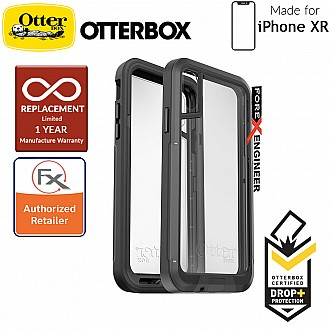Otterbox Pursuit for iPhone XR - Thinnest & Toughest Otterbox Case- Black / Clear