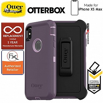 Otterbox Defender for iPhone Xs Max - Purple Nebula