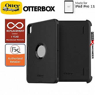 "Otterbox Defender for iPad Pro 11 inch / 11"" ( 2018 ) 1st Gen - Black Color ( Barcode : 660543486473 )"